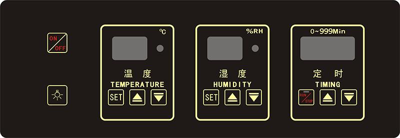 温湿度控制器-横款